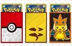 Poke Ball and Pikachu Sleeves